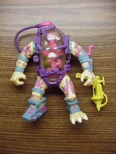 TMNT Vintage Mutagen Man Action Figure Teenage Mutant Ninja Turtles #PlaymatesToys