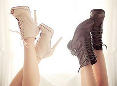 Girly vs. edgy. I love both :)