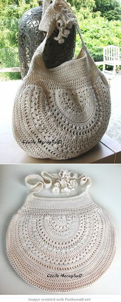crochet - bag - like the half circle