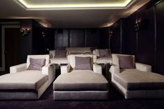 Top 70 Best Home Theater Seating Ideas - Movie Room Designs Top 70 Best Home Th. Top 70 Best Home Theater Seating Ideas – Movie Room Designs Top 70 Best Home Theater Seating Ide Home Cinema Room, Home Theater Decor, Best Home Theater, Home Theater Rooms, Home Theater Seating, Home Theater Design, Theater Seats, Movie Theater, Home Decor Ideas