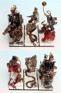 Ogre Maneaters - Page 166 Warhammer Ogre, Warhammer 40k Miniatures, Warhammer Fantasy, Fantasy Battle, Minis, Doll Toys, Dolls, Fine Art, Modeling