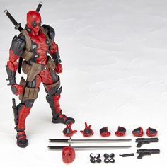 Garage Kit Marvel Legends X-men No.001 DEADPOOL Action Figure Revolt Kaiyodo Verison toy