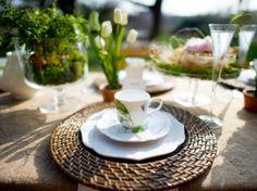 16. Table setting theme #wedding #modcloth