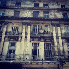 A very old building, still standing which I found whilst having lunch in Taksim, Istanbul, Captured by Christopher Webb