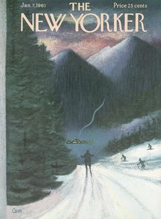 The New Yorker - Saturday, January 7, 1961 - Issue # 1873 - Vol. 36 - N° 47 - Cover by : Charles E. Martin