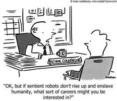 School counselor humor: So relatable! Teacher Cartoon, School Cartoon, Education Humor, Career Education, Career Counseling, School Counselor, 4 Industrial Revolutions, Career Choices, Career Advice