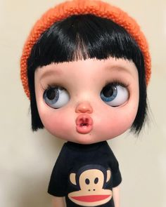 25k Followers, 700 Following, 599 Posts - See Instagram photos and videos from Gina Soriano (@gbabydolls) Ooak Dolls, Blythe Dolls, Cute Cartoon Pictures, Custom Dolls, Doll Face, Girl Cartoon, Big Eyes, Doll Accessories, Little Pony