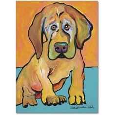 Trademark Fine Art Juno Canvas Art by Pat Saunders-White, Size: 24 x 32, Blue