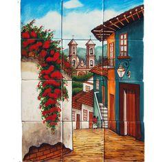 Mexican Style Mural - Callejuela