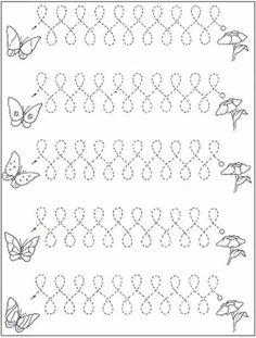 Preschool Writing, Preschool Learning Activities, Writing Activities, Teaching Handwriting, Handwriting Practice, Tracing Worksheets, Kindergarten Worksheets, Pre Writing, Writing Skills