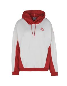 $24.0. PUMA Top Sweatshirts #puma #top #knit #sweater #sweatshirt #cotton #clothing Puma Sweatshirts, Hoodies, Hooded Vest, Printed Leggings, Leggings Fashion, Nike Jacket, Long Sleeve Tops, Sweaters, White White