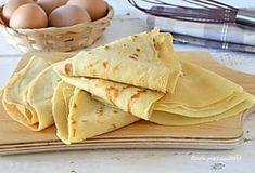 CREPES IMPASTO Senza BURRO COTTURA e Ricetta perfetta Crepes, Cooking, Ethnic Recipes, Food, Pancake, Kitchen, Pancakes, Essen, Meals