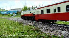 Miniatur kereta api di Lembang #Bandung.