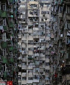 Michael Wolf photography in Hong Kong