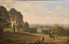 The Long Walk Windsor Great Park Painting by William Havell