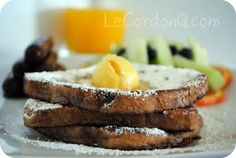 Cinnamon Raisin French Toast with Orange Butter - The Kitchen McCabe