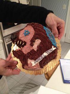 Werewolf Bar Mitzvah Cake / 30 Rock / Liz Lemon Wedding Cake