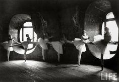 Dancing in the Attic of the Paris Opera House, ca. 1930