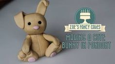 Image result for sugar paste bunny cupcake toppers