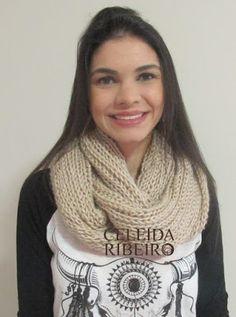 Celeida Ribeiro: Max gola em tricot!