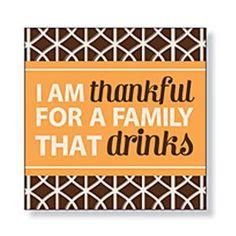 I am Thankful for - Beverage Napkins