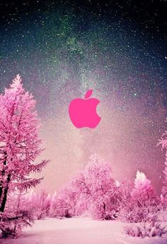 Super Wall Paper Ipad Pink Apple Iphone Ideas - Best of Wallpapers for Andriod and ios Apple Logo Wallpaper Iphone, Iphone Homescreen Wallpaper, Apple Wallpaper Iphone, Iphone Background Wallpaper, Cellphone Wallpaper, Pink Wallpaper, Disney Wallpaper, Wallpaper Quotes, Wallpapers Android