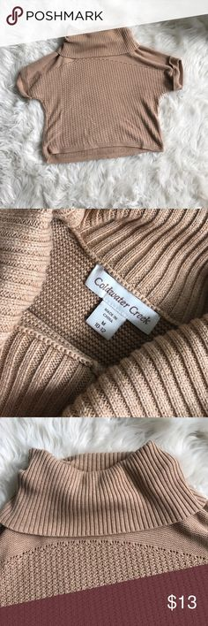 Sexy Fall Cowl Neck Sweater Like new condition! Make Me and offer! Coldwater Creek Sweaters Cowl & Turtlenecks