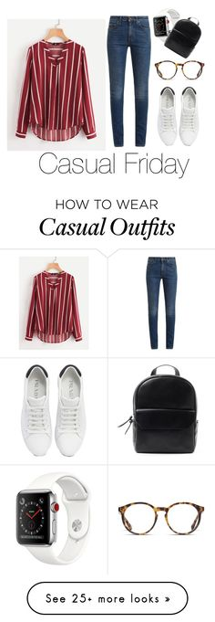 """Casual Friday"" by marinua on Polyvore featuring O'Neill, Prada, Yves Saint Laurent and fashionista"