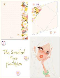 Printable envelopes & cards