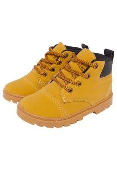 Bota Tricae Infantil Tratorada Amarela