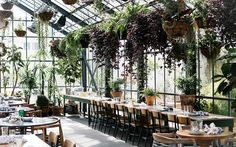 16 Breathtaking Restaurants to Add to Your Bucket List via @MyDomaine - the commissary restaurant, LA