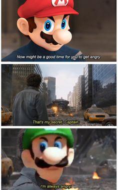 Video Games : The Year of the Death Stare Super Mario Memes, Super Mario And Luigi, Super Mario Art, Mario Brothers, Mario Bros, Mario Kart, Funny Laugh, Haha Funny, Mario Funny