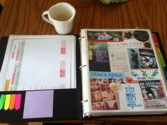 PicMonkey Dream Board in Life Binder - great printables for finances and to-do lists Life Binder, Life Planner, Planner Ideas, Happy Planner, Vision Book, Goal Board, Creating A Vision Board, Visualisation, Inspiration Boards
