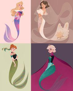 Disney Princess Rings, Disney Princesses And Princes, Disney Princess Pictures, Disney Fan Art, Disney Style, Vestidos Princesas Disney, Modern Disney Characters, Disney Fun Facts, Kawaii Disney