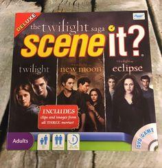 Twilight Saga Scene It? Deluxe Edition All 3 Movies 100% Complete #SummitEntertainment