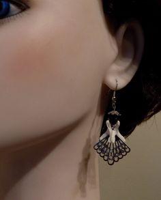 Real  Bone Jewelry Possum  Bone Earrings Vertebra