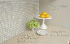 backsplash paint marble countertop