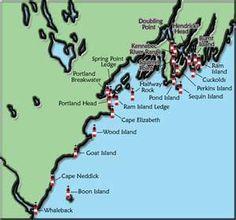 Lighthouse map