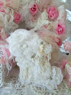 Hey, I found this really awesome Etsy listing at https://www.etsy.com/listing/197318174/bridal-dazzle-princess-vintage-floral