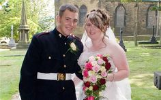 British soldier Lee Rigby was hacked to death in London on Wednesday, 05/22/13.   He is shown here on his wedding day.