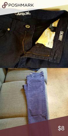 Mens Skinny Jeans Dark navy blue. 28/30 Carbon Jeans Skinny