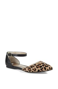 BP. 'Gillie' Ankle Strap Flat available at #Nordstrom