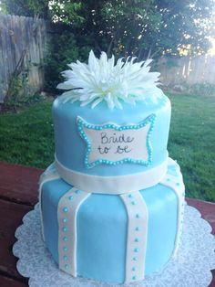 - Bride to Be in Blue
