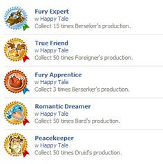 Achievements on Facebook http://wp.me/p2Wzyb-3V #happytale