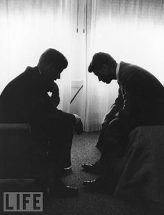 Jack and Bobby: Photo by Hank Walker, 1960