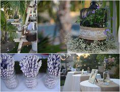 diy outdoor wedding reception