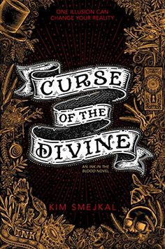Amazon.com: Curse of the Divine (Ink in the Blood Duology) eBook: Smejkal, Kim: Kindle Store Ya Books, Books To Buy, Books To Read, Book Cover Art, Dark Fantasy, Illusions, Blood, Novels, Ink