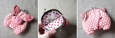 Cutest lunch money purse ever! from misala handmade
