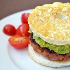 "Paleo Sausage Egg ""McMuffin"" by Michelle Tam https://nomnompaleo.com"