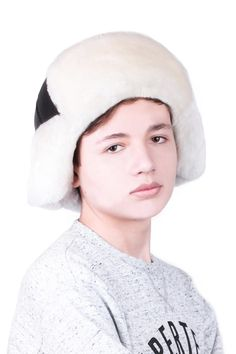 """""""Arctic"""" winter fur Hats collection Leather Hats, Black Leather, Mens Fur, Trendy Collection, Russian Fashion, Natural Leather, Hats For Men, Warm And Cozy, Winter Hats"""